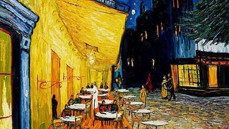 2. Cafe Terrace At Night , 1888
