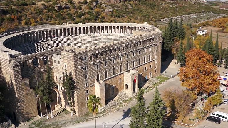 Aspendos Antik Kenti'nin Köklü Tarihi..