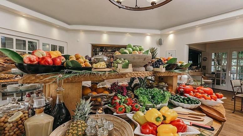 The Vegan Lodge'da Yemek Menüsü