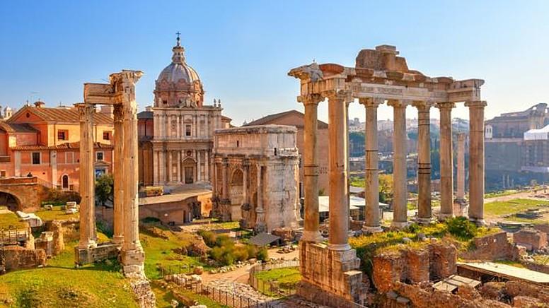 Ticaret ve Hukuk Merkezi: Roma Forumu..