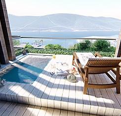 Deluxe Terrace Deniz Manzaralı