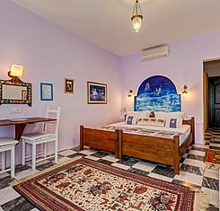 İki Yataklı Balkonlu Oda