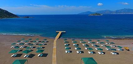 Adaburnu Gölmar Beach Datça Havuz / Deniz