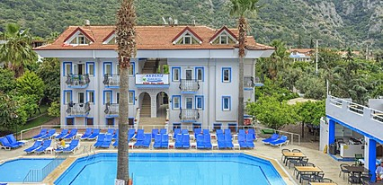 Akdeniz Beach Hotel Genel Görünüm
