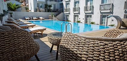 Alalucca Butik Otel Havuz / Deniz