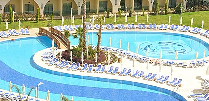 Alan Xafira Deluxe Resort & Spa Havuz / Deniz