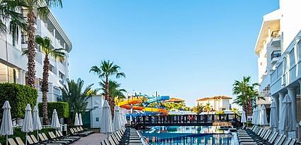 Alba Queen Hotel Havuz / Deniz
