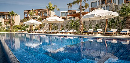 Allium Villas Resort Otel Havuz / Deniz