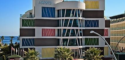 Armas Beach Hotel Genel Görünüm