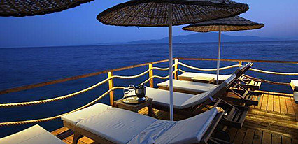Assos Behram Hotel Havuz / Deniz