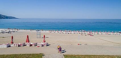 Belcekum Beach Hotel Havuz / Deniz