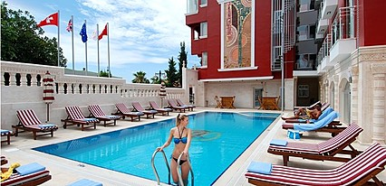 Bilem High Class Hotel Havuz / Deniz