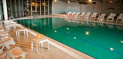 Çelikhan Thermal Hotel & Spa Havuz / Deniz