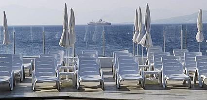 Chronos Beach Hotel Akyarlar Havuz / Deniz