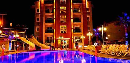 Club Alpina Apartments Genel Görünüm