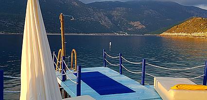 Club Antiphellos Havuz / Deniz