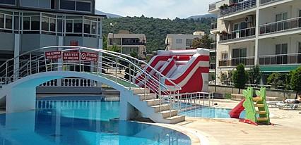 Club Green Gold Hotel Havuz / Deniz
