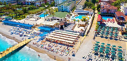 Club Hotel Sunbel Genel Görünüm