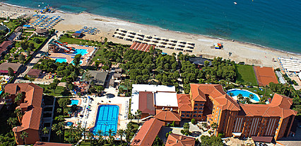 Club Hotel Turtaş Genel Görünüm