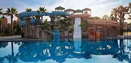Club Mega Saray Hotel Havuz / Deniz