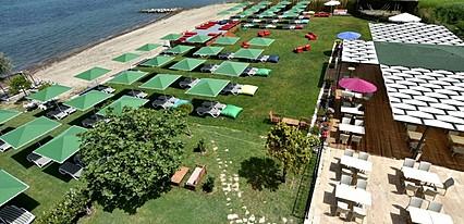 Club Nina Beach Hotel Havuz / Deniz