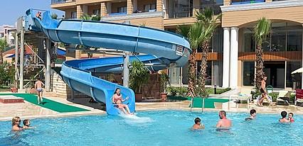 Club Sun Heaven Hotel Havuz / Deniz