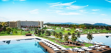 Concorde Luxury Resort Hotel Casino Havuz / Deniz