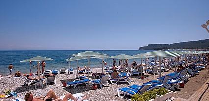 Crystal De Luxe Resort Spa Hotel Havuz / Deniz