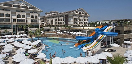 Crystal Palace Luxury Resort Spa Havuz / Deniz