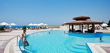 Crystal Sunrise Queen Luxury Resort Spa Havuz / Deniz