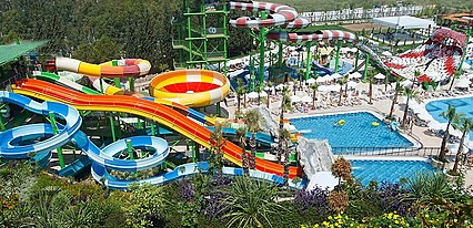 Crystal Sunset Luxury Resort Spa Havuz / Deniz