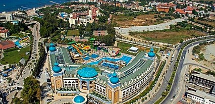 Crystal Sunset Luxury Resort Spa Genel Görünüm