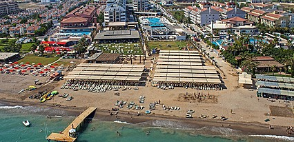 Crystal Waterworld Resort Spa Havuz / Deniz
