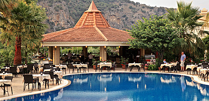 Dalyan Resort Hotel Havuz / Deniz