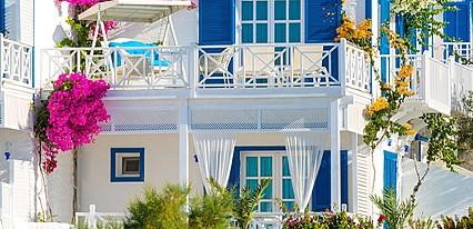 Datca Otel Mavi Beyaz Genel Görünüm