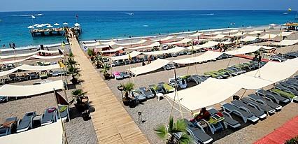 Delphin Deluxe Resort Havuz / Deniz