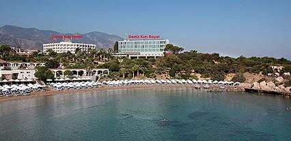 Deniz Kızı Hotel Genel Görünüm
