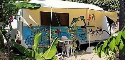 Golden Sand Beach & Caravan Fethiye Genel Görünüm