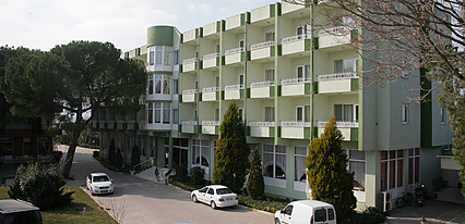 Gönen Kaplıcaları Yeşil Hotel Genel Görünüm