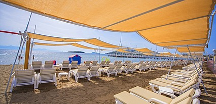 Grand Park Bodrum Hotel Havuz / Deniz