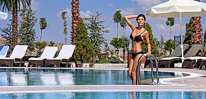 Grannos Thermal Hotel & Convention Havuz / Deniz