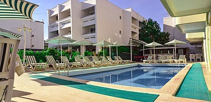 Green Palm Hotel Marmaris Havuz / Deniz