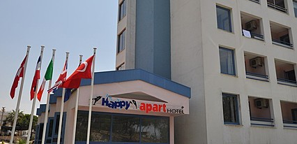 Happy Apart Hotel Genel Görünüm
