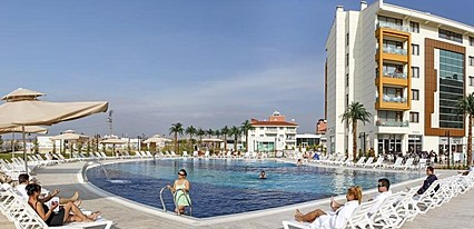 Hattusa Vacation Thermal Club Ankara Havuz / Deniz