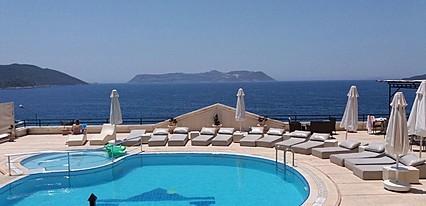Hera Hotel Kaş Havuz / Deniz