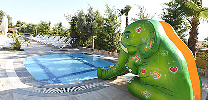 Hiera Park Thermal & Spa Hotel Havuz / Deniz