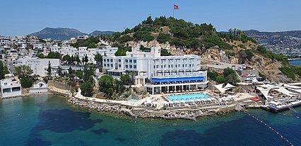 Hotel Mavi Kumsal Genel Görünüm