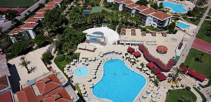 Hydros Club Hotel Genel Görünüm