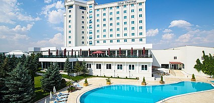 Ikbal Thermal Hotel & Spa Havuz / Deniz