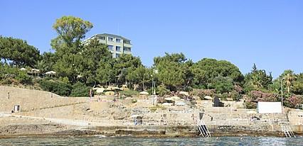 İncekum West Hotel Havuz / Deniz